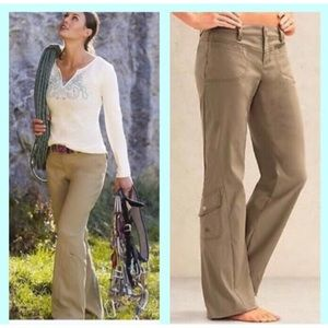 Athleta Dipper Cargo Khaki Pants *LIKE NEW*